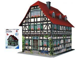 Ravensburger 3D Středověký dům -  puzzle 216 d.