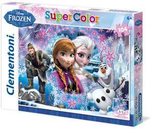 Zobrazit detail - Puzzle Clementoni  - 104 dílků  -  Frozen - Ledové království 27913
