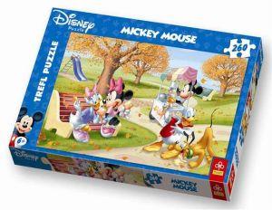Zobrazit detail - Trefl Puzzle pro děti Mickey Mouse Zmrzlina 260 dílků
