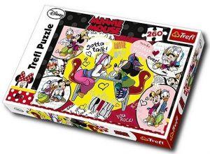 Zobrazit detail - TREFL Puzzle 13159 Minnie a Daisy Velké přátelství 260 dílků