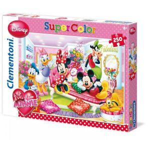 Zobrazit detail - CLEMENTONI Dětské puzzle 250 dílků - Báječná Minnie