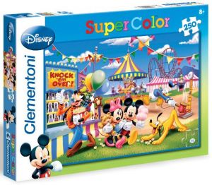 Zobrazit detail - CLEMENTONI Dětské puzzle 250 dílků Mickey Mouse: Lunapark