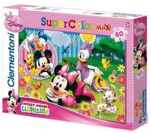Zobrazit detail - Clementoni Puzzle 26738  Minnie Mouse   60 dílků MAXI