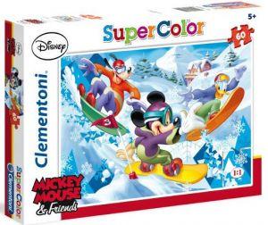 Zobrazit detail - Clementoni Puzzle 26924  - Mickey sport    60 dílků