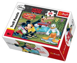 Zobrazit detail - Puzzle mini 54 d - Trefl - Mickey a Minnie Mouse   19275