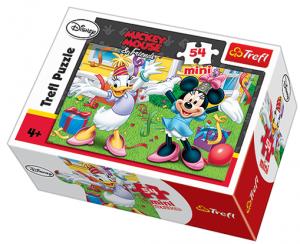 Zobrazit detail - Puzzle mini 54 d - Trefl - Mickey a Minnie Mouse   19277