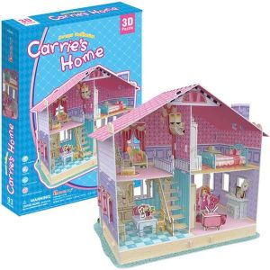 Zobrazit detail - 3 D Puzzle CubicFun - Domeček pro panenky  Cariie   93 dílků   20679