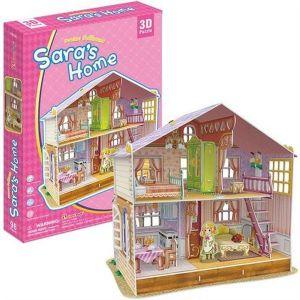 Zobrazit detail - 3 D Puzzle CubicFun - Domeček pro panenky  Sara   94  dílků   20678