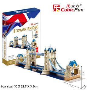 Zobrazit detail - 3 D Puzzle CubicFun - Tower Bridge    120  dílků   21066