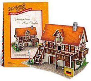 Zobrazit detail - 3 D PuzzlePuzzle  CubicFun -  Holiday world - Německo   Art studio   39  dílků   23125