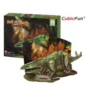 Zobrazit detail - 3D puzzle CubicFun Stegosaurus  20670