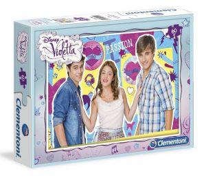 Zobrazit detail - Dětské puzzle Clementoni  60 dílků  - Violetta   08404