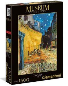 Zobrazit detail - Puzzle Clementoni 1500 dílků  Van Gogh - Kavárna na terase v noci 31667