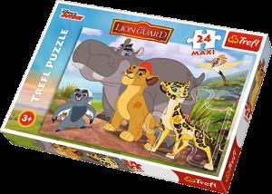 Zobrazit detail - Puzzle Trefl 24 MAXI dílků  -  Lví hlídka   14240