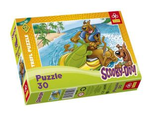 Zobrazit detail - 30 dlk - Scooby Doo  -  puzzle   Trefl