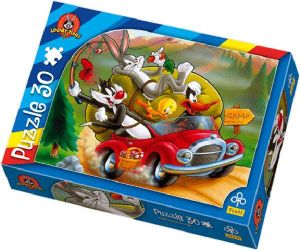 Zobrazit detail - 30 dlk - Auto - Warner Bros  -  puzzle   Trefl