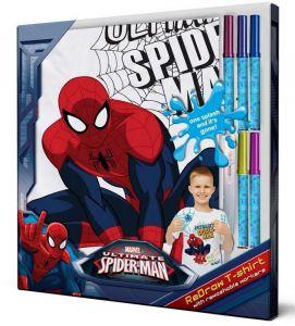 Zobrazit detail - Tričko k vymalování - Spiderman   116 cm