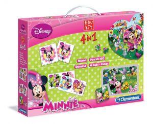 Zobrazit detail - EDUKIT - hry Clementoni  -  4v1 Minnie Mouse