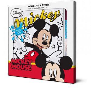Zobrazit detail - Tričko k vymalování - Mickey 110 cm