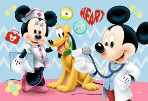 Zobrazit detail - Puzzle mini 54 d - Trefl - Mickey Mouse 19552