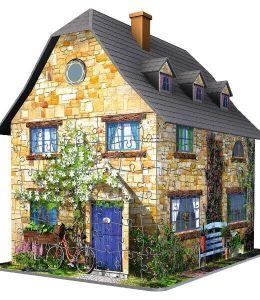 Zobrazit detail - Ravensburger 3D puzzle Anglická chata 216 dílků