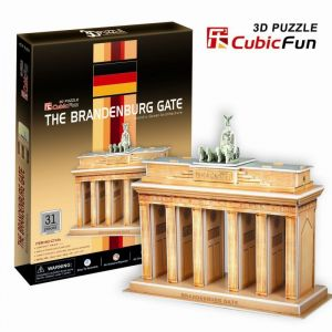 CubicFun 3D puzzle Braniborská brána Berlín 31 dílků