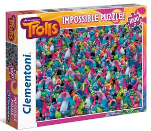 Puzzle Clementoni 1000 dílků - Nekoneční Trollové 39369