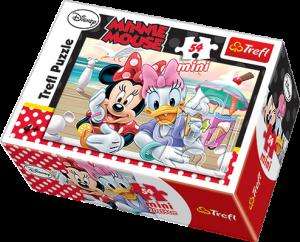 Zobrazit detail - Puzzle mini 54 d - Trefl - Mickey Mouse 19472