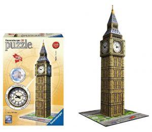 Zobrazit detail - Ravensburger 3D puzzle Big Ben s hodinami 216 dílků