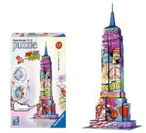 Zobrazit detail - Ravensburger 3D puzzle Empire State Building Pop Art 216 dílků