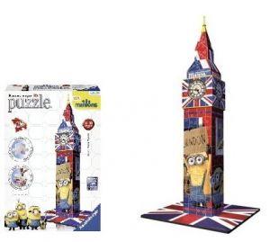 Zobrazit detail - Ravensburger 3D puzzle Mimoni Big Ben 216dílků