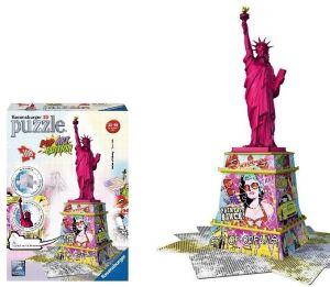 Zobrazit detail - Ravensburger 3D puzzle Socha svobody Pop Art Edition 108 dílků