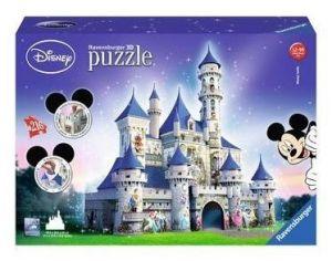 Zobrazit detail - Ravensburger 3D puzzle Zámek  Disney 216 dílků