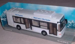 TEAMA - Městský autobus  3ass 1:48 - bílá barva