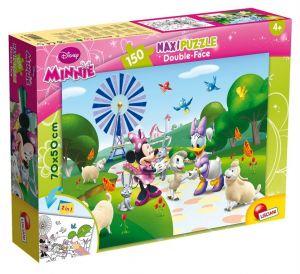 Puzzle Lisciani  150 dílků MAXI  - oboustranné - Minnie   48335