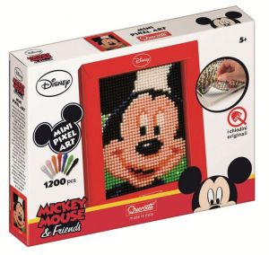 Quercetti  mozaika - Pixel Art -  Mickey Mouse