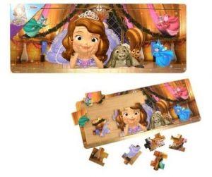 Dřevěné puzzle PLAYME - Sofie První   21 dílků