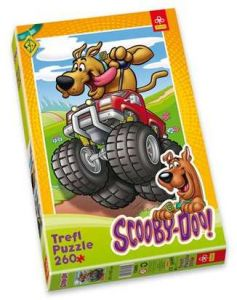 Zobrazit detail -  260 dlk - Scooby Doo - len jzda -  puzzle   Trefl