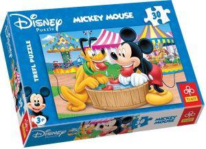 Zobrazit detail - 30 dílků - Mickey Mouse  -  puzzle   Trefl .