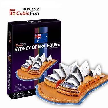 3 D Puzzle CubicFun - Opera v Sydney 58 d. Cubic Fun