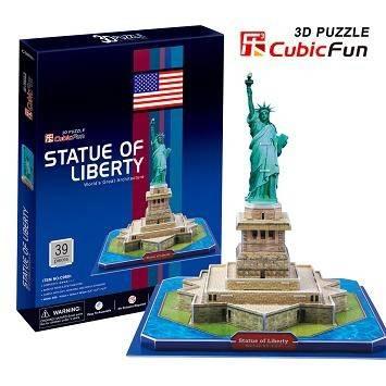 3 D Puzzle CubicFun - Socha Svobody 39 d. Cubic Fun