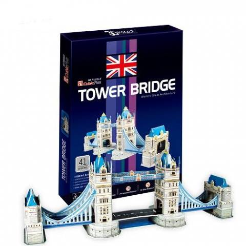 3 D Puzzle CubicFun - Londýnský most Tower Bridge 41 d. Cubic Fun