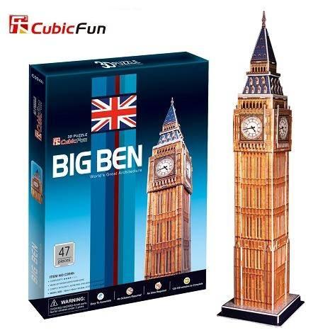 3 D Puzzle CubicFun - věž Big Ben 47 d. Cubic Fun