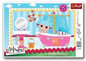 15 dílků Lalaloopsy - deskové puzzle Trefl  31161