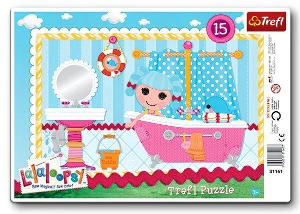 15 dílků Lalaloopsy - puzzle v rámečku ( rámkové ) puzzle Trefl 31161
