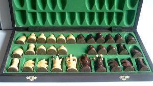 Dřevěné šachy - velké - královské ( FILIPEK sz-45 )