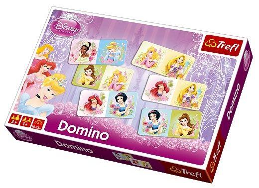 Obrázkové domino - Princezny - Trefl