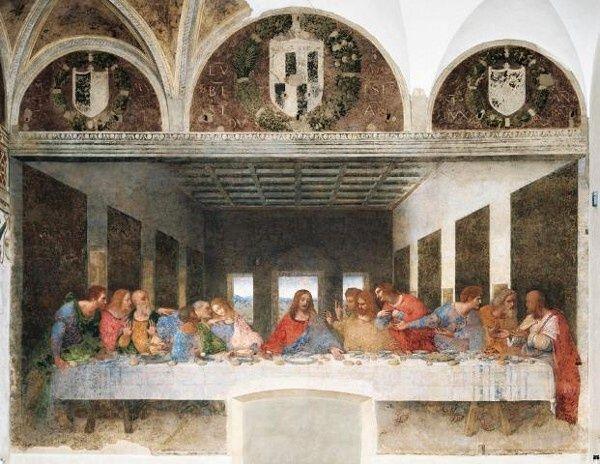 Puzzle Clementoni 1000 dílků - Leonardo da Vinci - Poslední večeře - Clementoni 31447