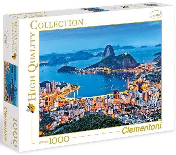 Puzzle Clementoni 1000 dílků - Rio De Janeiro , Clementoni 39258