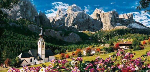 Puzzle Clementoni 13200 dílků - Sellagruppe - Italské Dolomity - 38007
